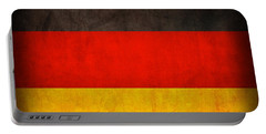 Germany Flag Vintage Distressed Finish Portable Battery Charger