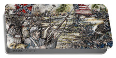 Gettysburg Ash's At The Angle Portable Battery Charger by Scott and Dixie Wiley