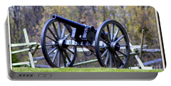 Gettysburg Battlefield Cannon Portable Battery Charger by Patti Whitten