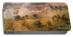 Gettysburg Cyclorama Detail One Portable Battery Charger