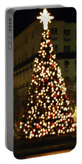 Gettysburg Pa  Christmas Tree Portable Battery Charger by John Williams