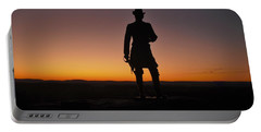 Gettysburg Sunset Portable Battery Charger by Ed Sweeney