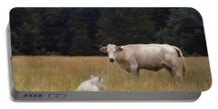 Ghost Cow And Calf Portable Battery Charger