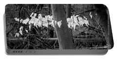 Ghost Leaves Portable Battery Charger