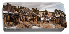 Portable Battery Charger featuring the photograph Ghost Town by Sue Smith