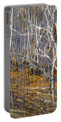 Portable Battery Charger featuring the photograph Ghost Willows by Brian Boyle