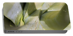 Giant Agave Abstract 3 Portable Battery Charger