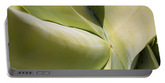 Giant Agave Abstract 9 Portable Battery Charger