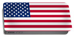 Giant American Flag Portable Battery Charger