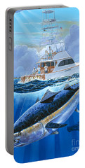 Giant Bluefin Off00130 Portable Battery Charger by Carey Chen