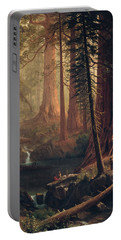 Giant Redwood Trees Of California Portable Battery Charger