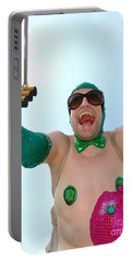 Portable Battery Charger featuring the photograph Giant Smile by Ed Weidman