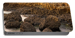Giants Causeway, Antrim Coast, Northern Portable Battery Charger