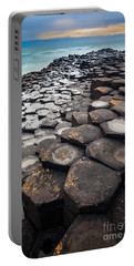 Giant's Causeway Hexagons Portable Battery Charger