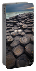 Giant's Causeway Pillars Portable Battery Charger