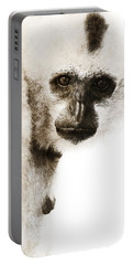 Crested Gibbon #1 Portable Battery Charger