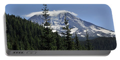 Gifford Pinchot National Forest And Mt. Adams Portable Battery Charger by Tikvah's Hope