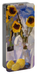 Gifts Of The Sun Portable Battery Charger by Susan Duda