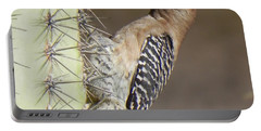Portable Battery Charger featuring the photograph Gila Woodpecker by Deb Halloran