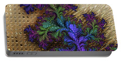 Gilded Fractal 12  Portable Battery Charger