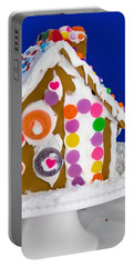 Portable Battery Charger featuring the photograph Gingerbread House by Vizual Studio