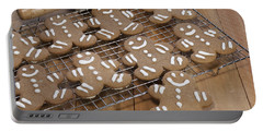 Gingerbread Man Cookies Portable Battery Charger