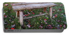 Ginny's Bench Portable Battery Charger by Kerri Mortenson