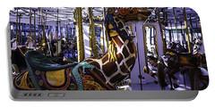 Giraffe Carousel Ride Portable Battery Charger