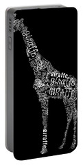 Giraffe Is The Word Portable Battery Charger