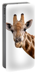 Giraffe Portrait Portable Battery Charger
