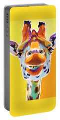 Giraffe - Sunflower Portable Battery Charger