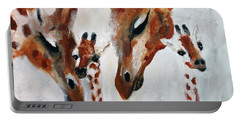 Giraffes - Oh Baby Portable Battery Charger