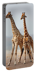 Giraffe Photographs Portable Battery Chargers