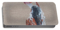 Girl Bathing, 2012 Acrylic On Canvas Portable Battery Charger