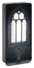 Girl In Chapel Portable Battery Charger