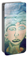 Girl With Ear Rings Portable Battery Charger