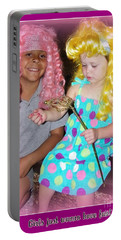 Portable Battery Charger featuring the photograph Girls Just Wanna Have Fun by Bobbee Rickard