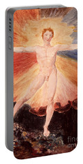 Glad Day Or The Dance Of Albion Portable Battery Charger
