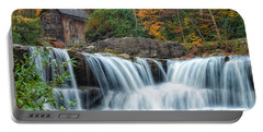 Glade Creek Grist Mill And Waterfalls Portable Battery Charger
