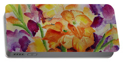 Gladioli Portable Battery Charger