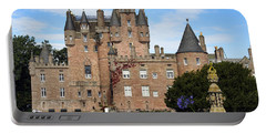Glamis Castle Portable Battery Charger by Jason Politte