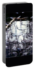 Portable Battery Charger featuring the photograph New Orleans Toast To The New Year 2017 Abstract by Michael Hoard