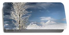 Glencoe Winter Landscape Portable Battery Charger