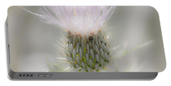 Glimmering Thistle Portable Battery Charger
