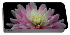 Glistening Dahlia Radiance Portable Battery Charger