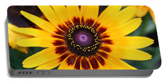 Portable Battery Charger featuring the photograph Gloriosa Daisy by Denyse Duhaime