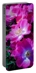 Glorious Blooms Portable Battery Charger by Lucinda Walter