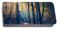 Glorious Forest Morning Portable Battery Charger