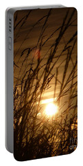 Glow Through The Grass Portable Battery Charger