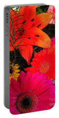 Portable Battery Charger featuring the photograph Glowing Bright by Meghan at FireBonnet Art
